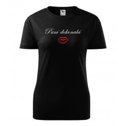 Dámské tričko - Paní dokonalá