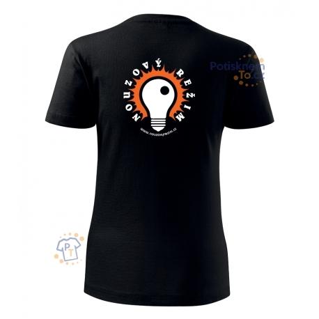 Dámské tričko - Nouzový režim