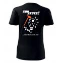 Dámské tričko - Nouzový režim pro hasičky