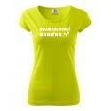 Dámské tričko - Rozmazlovací babička