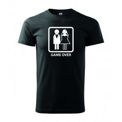 Pánské triko - Game over