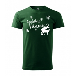 Pánské tričko - Radostné Vánoce