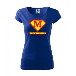 Dámské triko - Supermamka