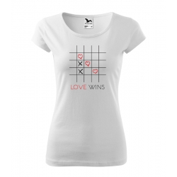 Dámské triko - Love wins