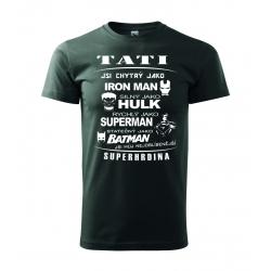 Pánské triko - Táta superhrdina