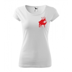Dámské triko - Jelen s laní