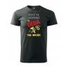 Pánské tričko - Když to neopraví děda, tak nikdo