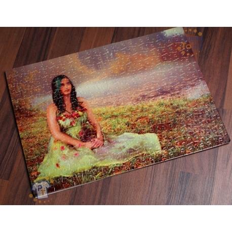 Puzzle s vlastní fotkou, fotopuzzle – 300 dílků, 40x29 cm