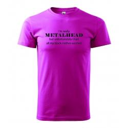 Pánské tričko - I'm really Metalhead