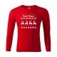 "Pánské triko - Veselé Vánoce ""svetr se sobem"""