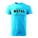 Pánské triko - Poslouchám METAL